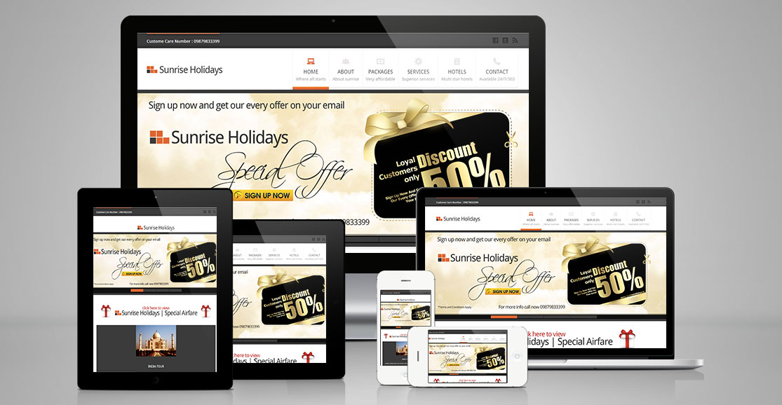 Full Responsive Website